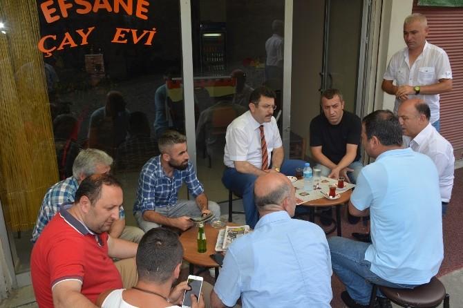 Başkan Genç'e Erdoğdu'da Samimi Karşılama