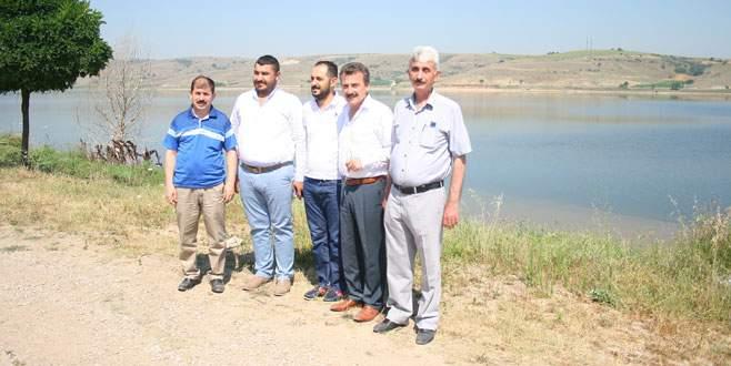 Yenişehir ovasına barajlardan can suyu