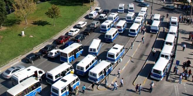 Doğu hattındaki minibüsler kalkıyor