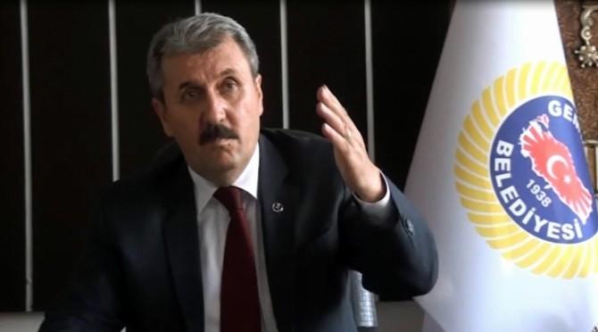 """BBP Genel Başkanı Destici: """"Kandil İmha Edilmeli"""""""