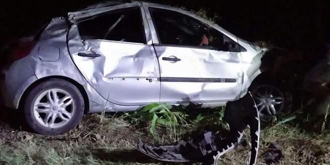 Ehliyetsiz sürücü faciası: 1 ölü, 4 yaralı