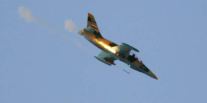 Sınırda Suriye uçağı düştü: 35 ölü
