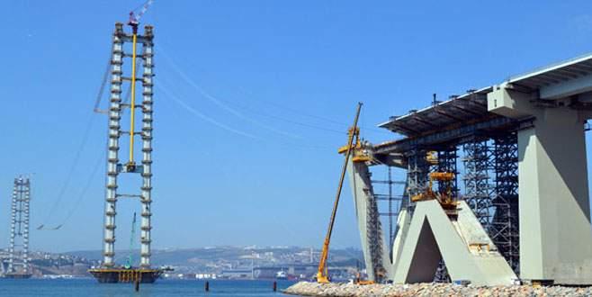 İzmit Körfez Geçişi Köprüsü mart ayında açılacak
