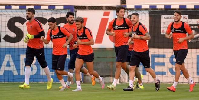 Trabzonspor, Rabotnicki maçının hazırlıklarına başladı