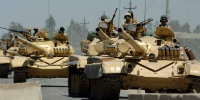 Suudi tankları sınırı geçti