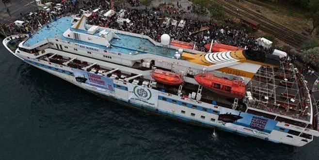 Mavi Marmara'da rüzgar tersine döndü