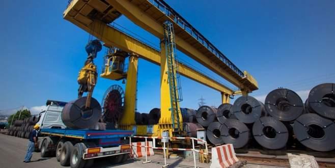 6.1 milyar dolarlık çelik ihraç edildi