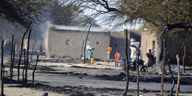 Köy yakıldı halkı kaçırıldı