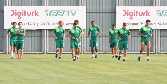 Bursaspor, Galatasaray'a hazırlanıyor