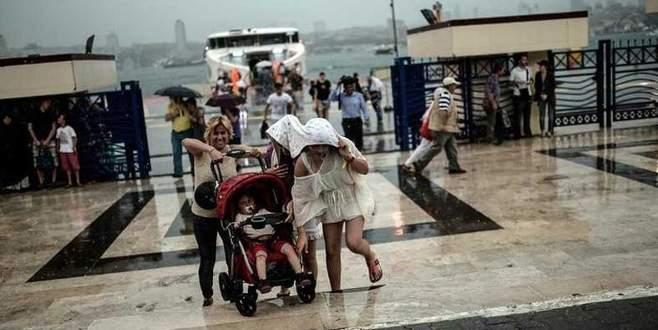 Marmara'ya meteorolojik uyarı