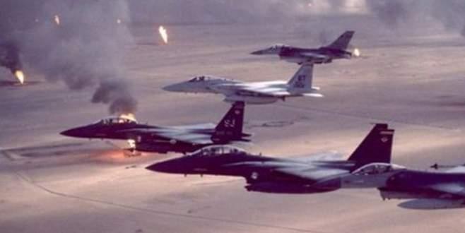 Koalisyon güçleri terör örgütü IŞİD'i vurdu