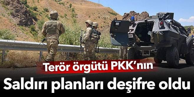 PKK'nın eylem planları deşifre oldu!