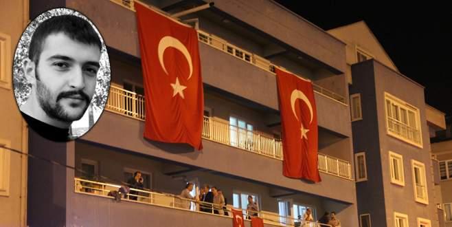 Şehit acısı Bursa'ya düştü