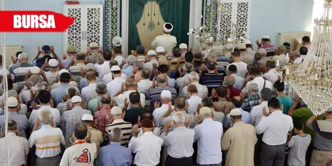 Şehit polis için gıyabi cenaze namazı