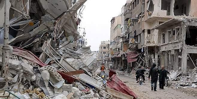 Esad güçlerinden sivillere varil bombalı saldırı