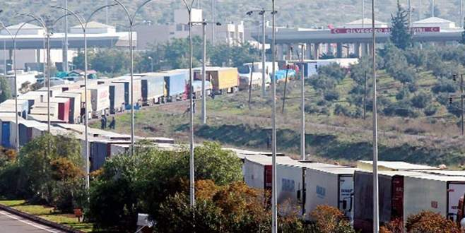 Karayolu ihracatında yüzde 9 düşüş