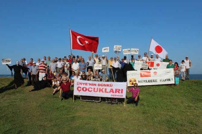 Ünye, Japonya'nın Acısını Paylaştı