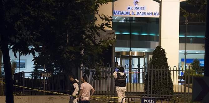 AK Parti İl Başkanlığı'na saldırı: 1 yaralı
