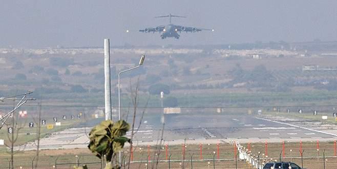ABD askeri uçakları İncirlik'te