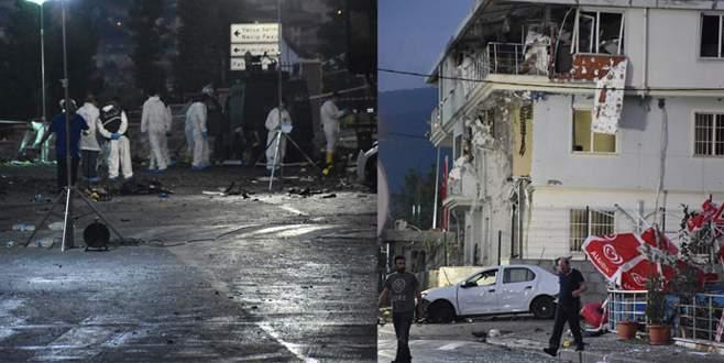 Polis merkezine bombalı saldırı!