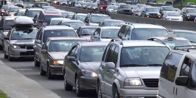 Trafikteki araç sayısı 19 milyonu aştı