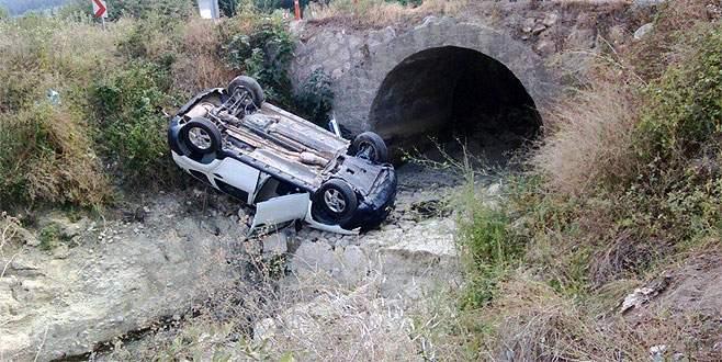 Tahtalı köprüsünde bir kaza daha…
