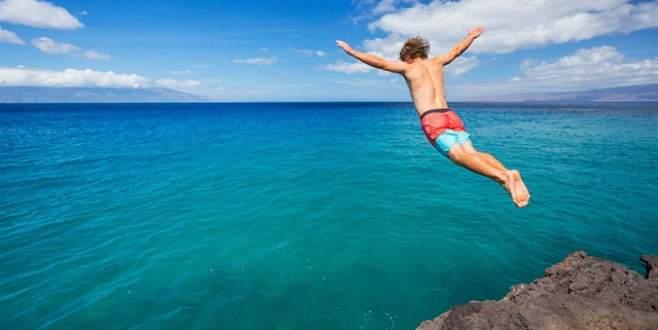 Suya atlamadan bir kez daha düşünün