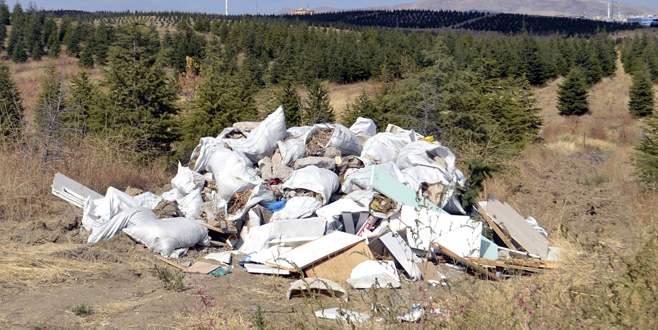 Çöp ve maloz dökenlere uyarı