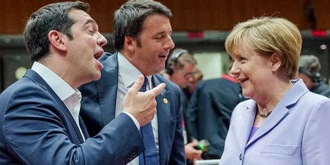 Almanya Yunanistan krizinden faydalanmış!