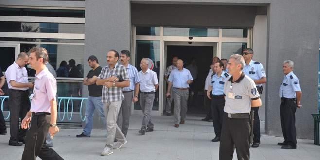 Bursa'da hastanede dehşet dolu dakikalar!