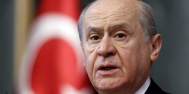 Bahçeli'den Erdoğan ve Davutoğlu'na cevap