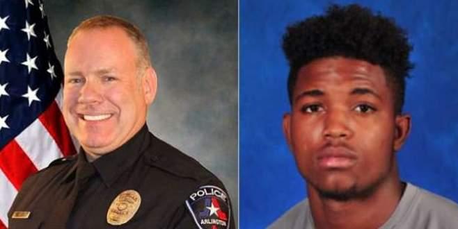 Siyahi genci öldüren polis meslekten atıldı