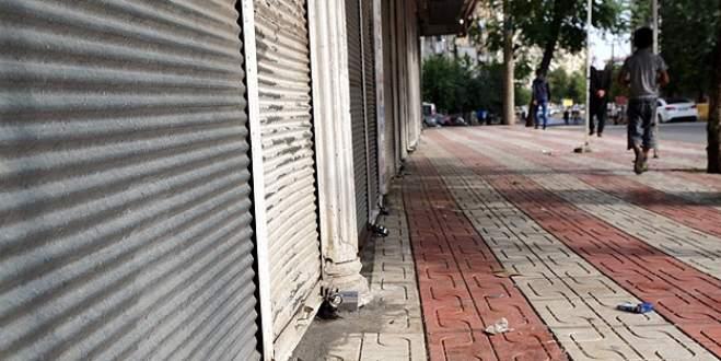 Terör saldırıları Güneydoğu'da 'kepenk' kapattırdı