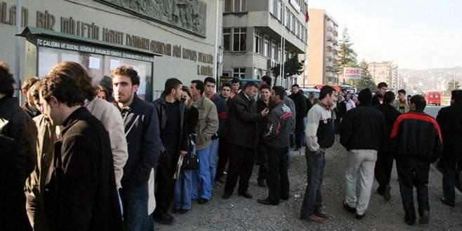 Kayıtlı işsiz sayısında % 31 artış