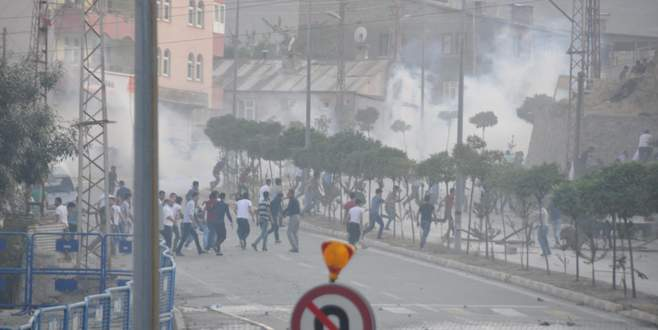 PKK'lının cenazesinde olaylar çıktı