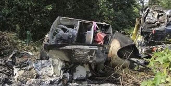 Nijerya'da helikopter düştü: 4 ölü