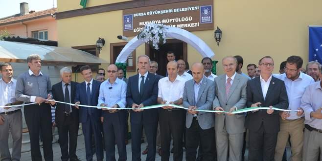Mudanya'ya eğitim ve kültür merkezi