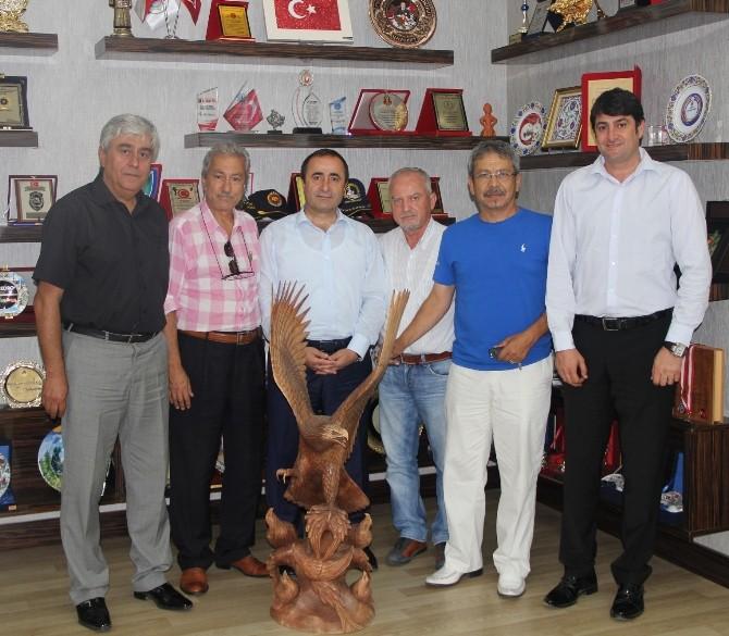 Tsyd'den Emniyet Müdürü Cemil Tonbul'a Ziyaret