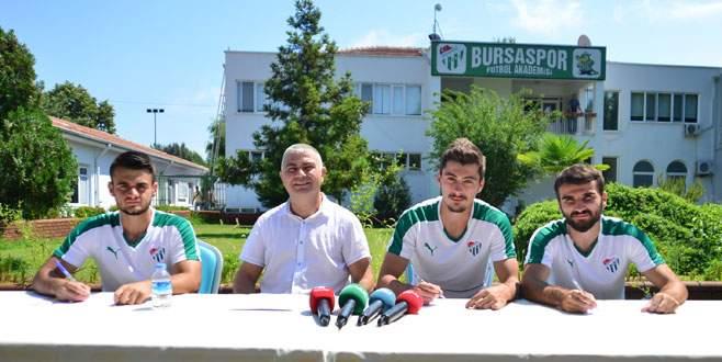 Bursaspor alt yapı hocalarını tanıttı
