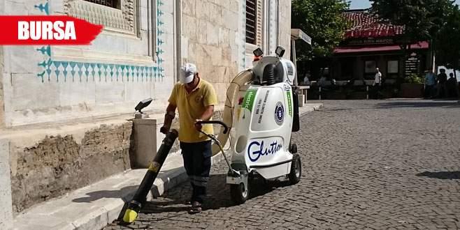 Çevre temizliğine modern imza