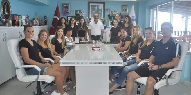 Perilerinden Türkyılmaz'a ziyaret