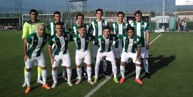 U21'de Bursaspor Trabzonspor'a boyun eğdi