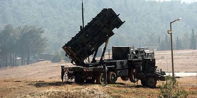 ABD de 'Patriot' füzeleri çekiyor