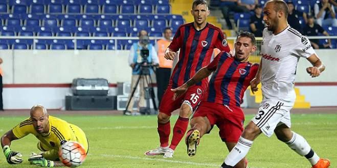 Beşiktaş'tan 5 gollü galibiyet