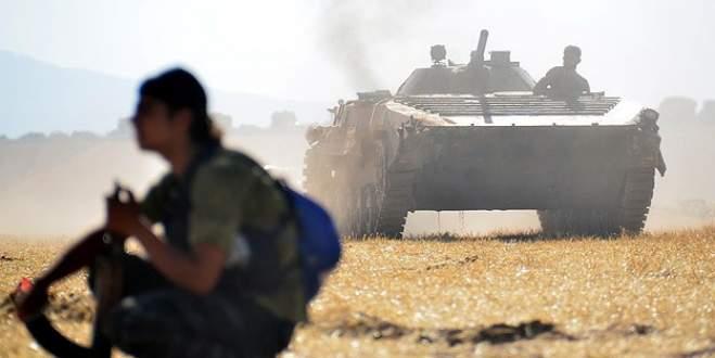 Türkiye sınırına havan mermisi düştü