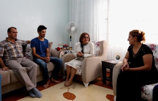Şahin'den LYS'de Başarılı Olan Öğrencilere Ziyaret