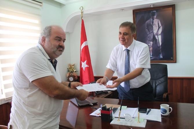 Anamur Kaymakamı Cengiz Cantürk, Otelciler'in Sorunlarını Dinledi