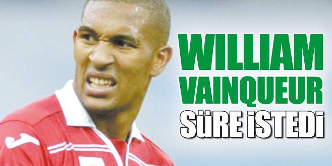 William Vainqueur düşünüyor