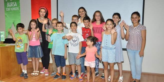 BKK'da çocuklara drama gösterimi