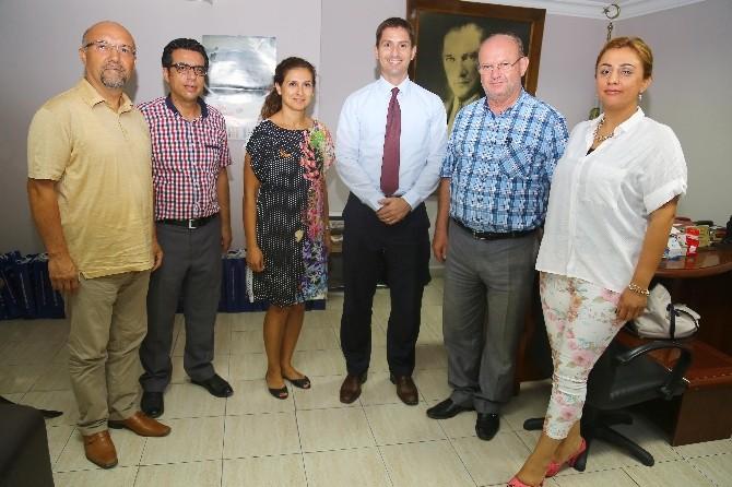 Yeni Kültür Ve Basın Ateşesinden ÇGC'ye Ziyaret